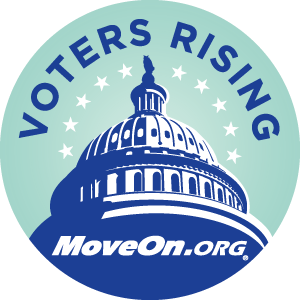 Voters Rising Logo