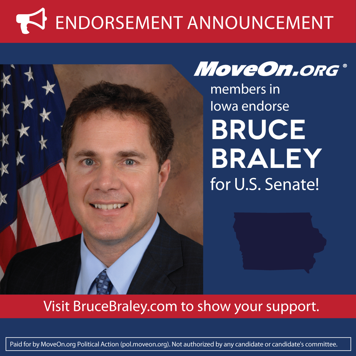 MoveOn_Members Endorse Bruce Braley