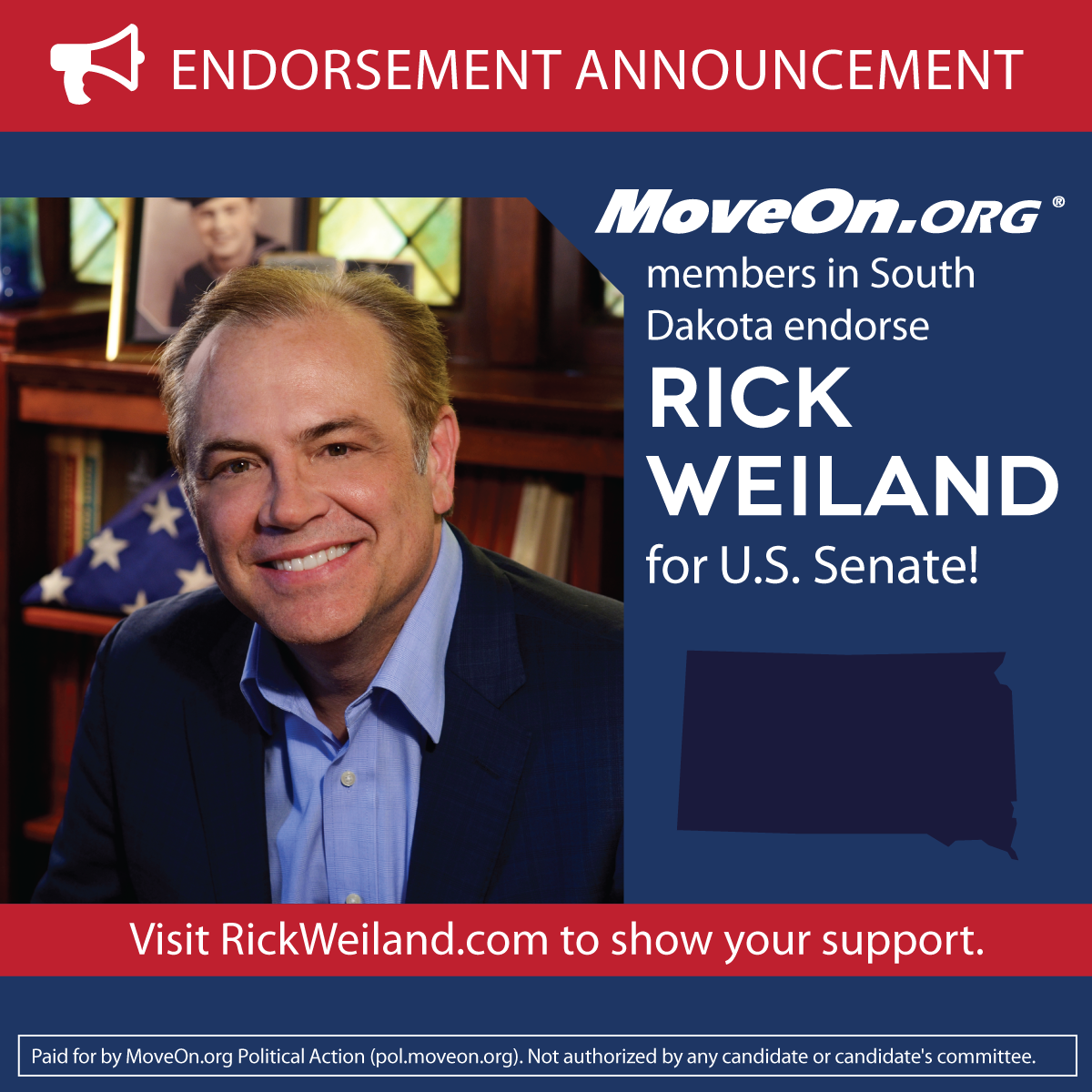 MoveOn_Members Endorse Rick Weiland