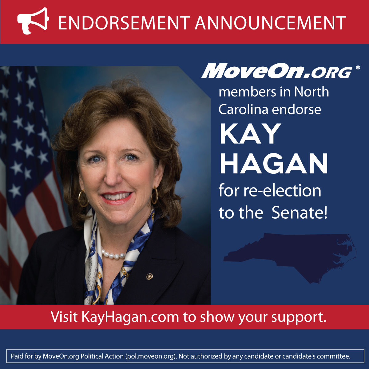 MoveOn_Members Endorse Kay Hagan