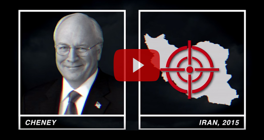 Dick   Cheney and team fooled us once.