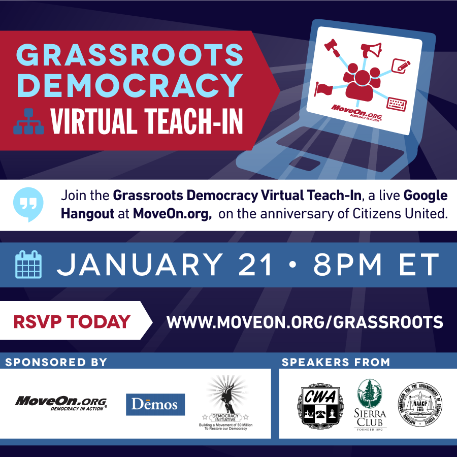 Grassroots Democracy Virtual Teach-in