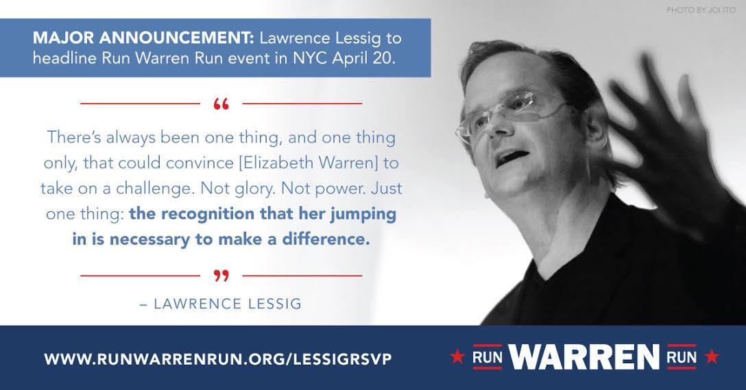 Larry Lessig quote
