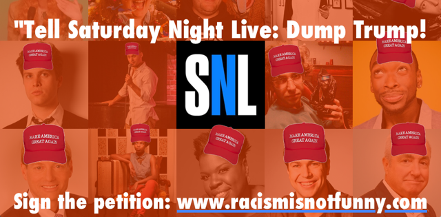 Moveon petitions no room for hate on saturday night live - Who was in my room last night live ...